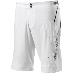 TROY LEE DESIGNS Short RUCKUS Blanc