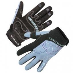 ENDURA Paire de gants Femmes SINGLETRACK Noir Bleu