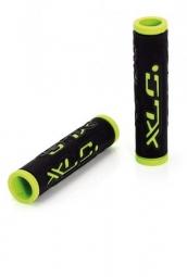 XLC Paire de Grips Kraton Noir Vert