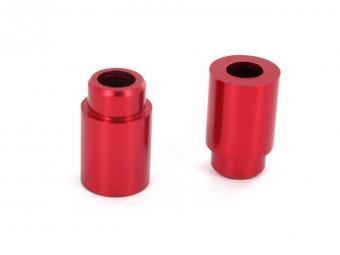 SB3 Kit Entretoises d´amortisseur 50x8mm Rouge