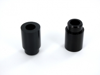SB3 Kit Entretoises d´amortisseur 50x8mm Noir