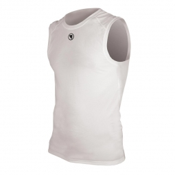 ENDURA T-Shirt Sleeveless Baselayer White Translite