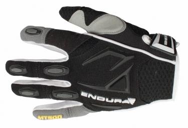 endura paire de gants mt500 noir blanc m