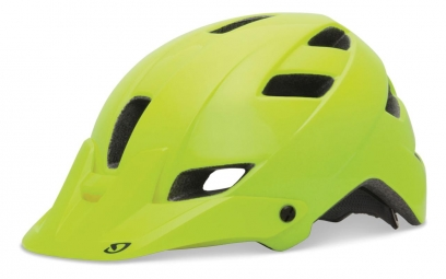 Casco Giro FEATURE 2013 Amarillo flúor