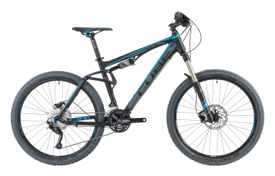CUBE 2013 Vélo complet AMS 130 26'' Pro Noir Gris Bleu