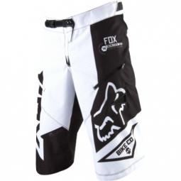 FOX Short DEMO DH Noir Blanc