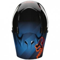 Casco integral Fox RAMPAGE Negro Azul Rojo