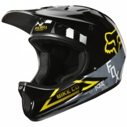 Casco integral Fox RAMPAGE Negro Amarillo