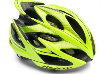 Casque Rudy Project WINDMAX Jaune Fluo Noir