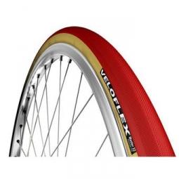 pneu veloflex master beige rouge 23 mm