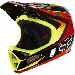FOX Rampage Pro 2013 Full Face Helmet Carbon Red Yellow