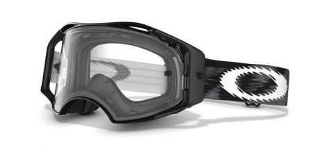 OAKLEY MX Jet Black Mask AIRBRAKE Speed ​​Black