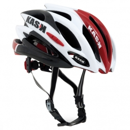 KASK Casque DIECI Blanc/Rouge
