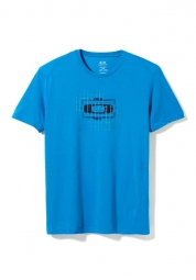 OAKLEY Tee Shirt O-SQUARE Bleu