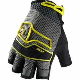 FOX Gants courts DIGIT Gris / Jaune
