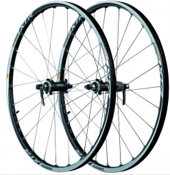 SHIMANO Wheelset 26'' XTR M985 Axles 9mm Tubeless Centerlock