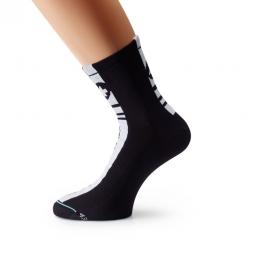 ASSOS Paire de chaussettes SummerSocks Mille Regular Noir