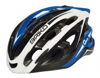 BRIKO QUARTER Helmet Black White Blue