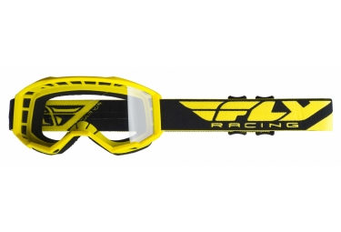 Fly Racing Focus Goggles Neon Yellow