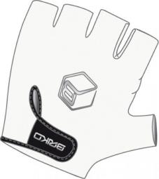 BRIKO Paire de gants GUANTO SOLID Blanc Noir