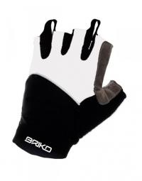 BRIKO Paire de gants SUMMER BIKE GLOVE Blanc Noir