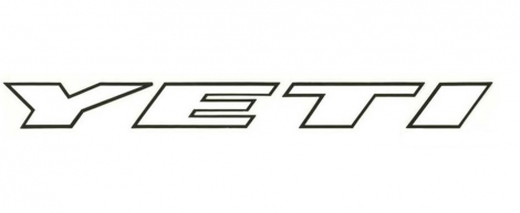 YETI Sticker MEDIUM 400mm