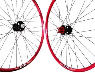 NOTUBES Wheelset CREST-3.30 29'' RED