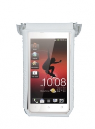 TOPEAK DRYBAG for smartphone For 3 and 4'' screen White