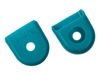 RACE FACE Alu Crankarms Protections BOOT PEDAL Turquoise