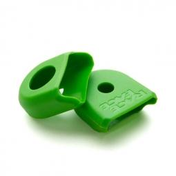 Race face paire de proteges manivelles carbone boot pedal vert