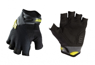 FOX Paire de Gants courts Reflex Gel Charcoal