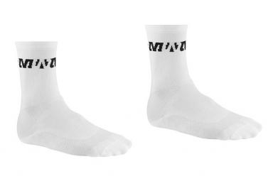 MAVIC Paire de chaussettes PRO Blanc