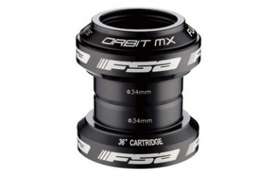 FSA Headset  Orbit MX 1'' 1/8 without stars and cap Black