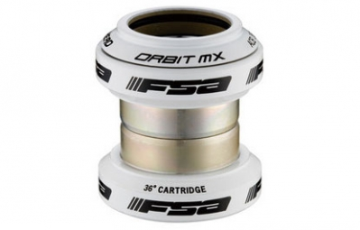 FSA Headset Ahead Orbit MX 1'' 1/8 without stars and cap White