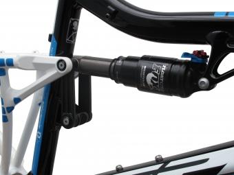 VIPER 2013 Frame NITRO  Black Blue  + Shock Fox RP23 Size 46