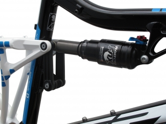 VIPER 2013 Frame NITRO  Black Blue  + Shock Fox RP23 Size 51