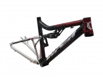 VIPER 2013 Frame NITRO  Black Red  + Shock Fox RP23 Size 46