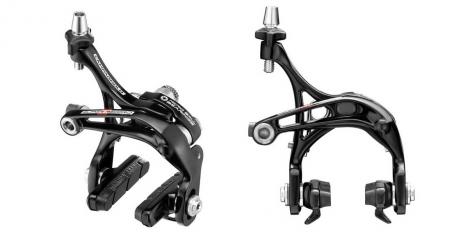 campagnolo paire de freins super record skeleton dual pivot noir