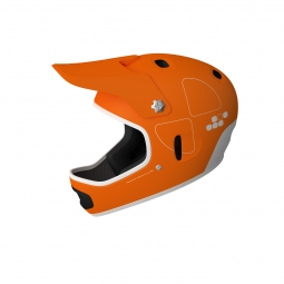 Casco integral Poc CORTEX FLOW Naranja