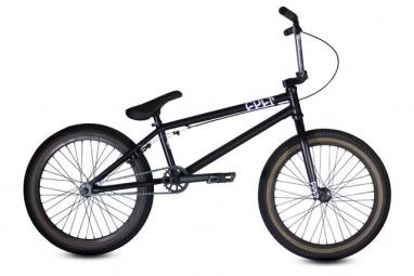 CULT BMX Complet CC02 Noir Chrome