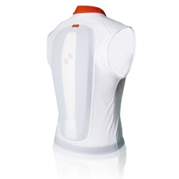 poc gilet de protection dorsale spine vpd coupe slim blanc l xl