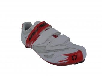 Chaussures Route Viper VERBIER Blanc Noir Rouge