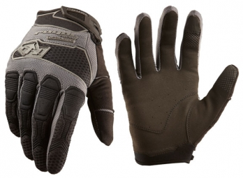 royal paire de gants longs turbulence noir s