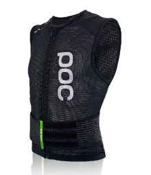poc gilet de protection sans manches spine vpd 2 0 slim noir s