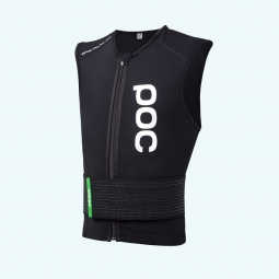 poc gilet de protection sans manches spine vpd 2 0 slim noir m
