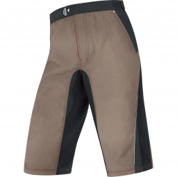 GORE BIKE WEAR Short FUSION TRAIL Beige Noir