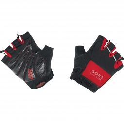 GORE BIKE WEAR Paire de Gants Courts COUNTDOWN 2.0 SUMMER  Noir Rouge
