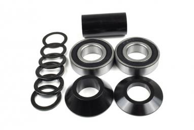 Gnk bmx boitier de pedalier mid noir 22 mm
