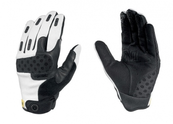 MAVIC Paire de Gants Longs SINGLE TRACK Blanc