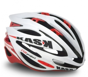 KASK Vertigo Helmet White Red